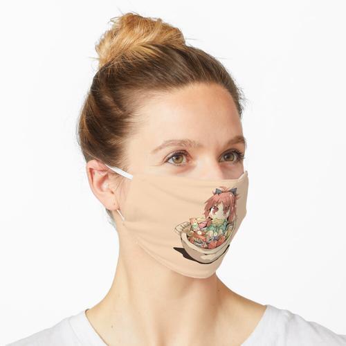 Snackzeit für Loli Maske