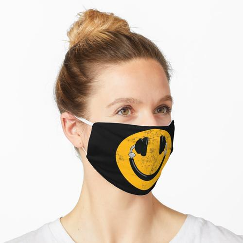 Kopfhörer Smile DJ Smiley Maske