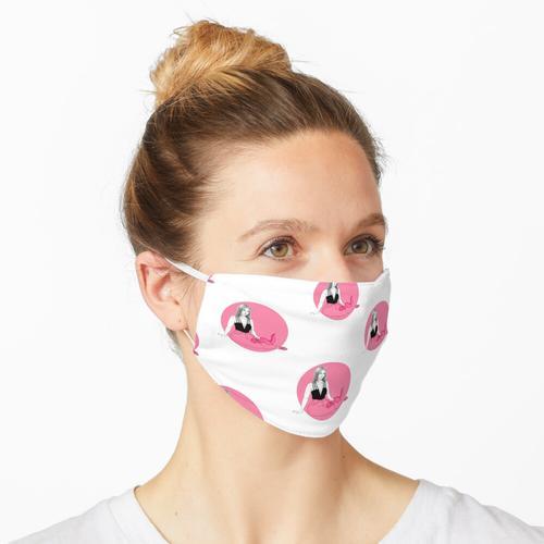 pinker Dino Maske