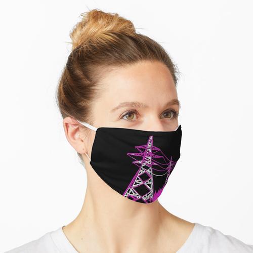 Rosa Pylone Maske