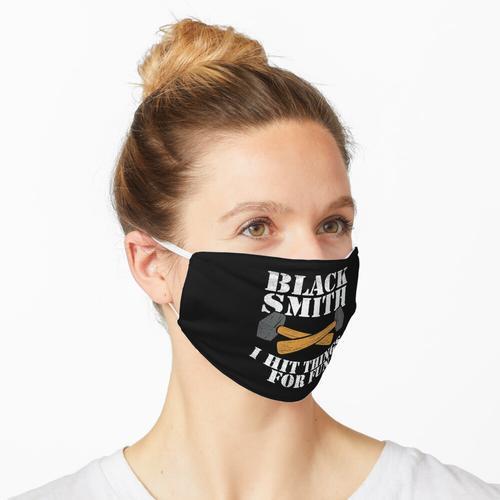 Schmied Hufschmied Schmiedekunst Maske