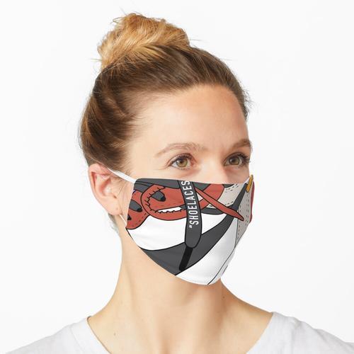 Aj1 cremefarben Maske