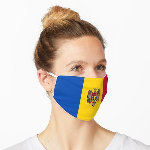 Flagge von Moldawien Maske