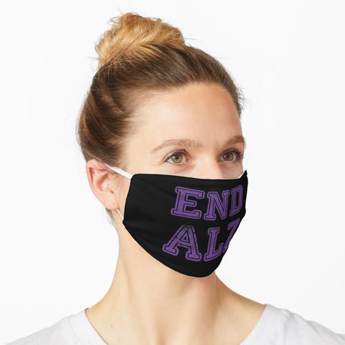 Ende ALZ Alzheimer Maske