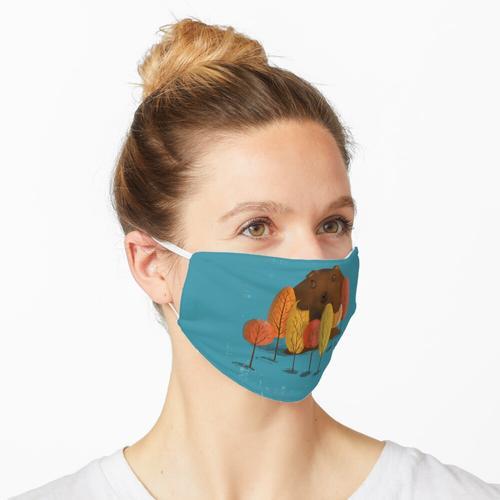 Ungeheuer zart Maske
