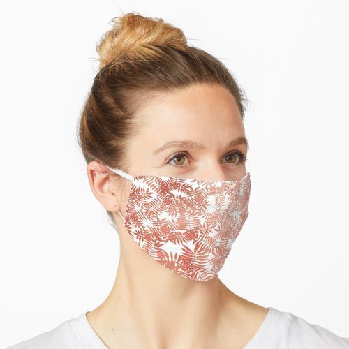 Eberesche / Eberesche - Rosen-Gold auf Weiß Maske