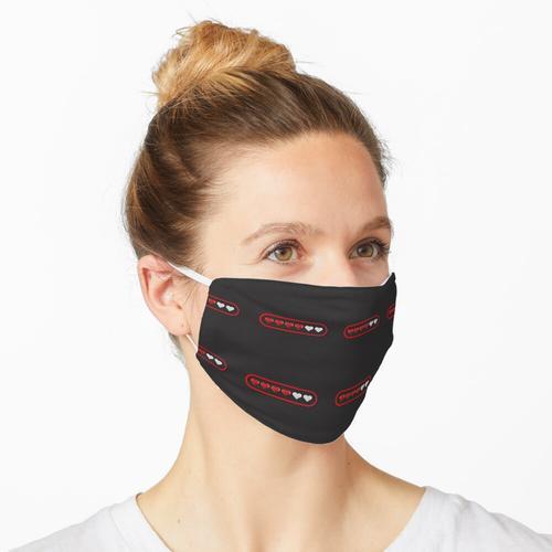 Herzmaske Maske