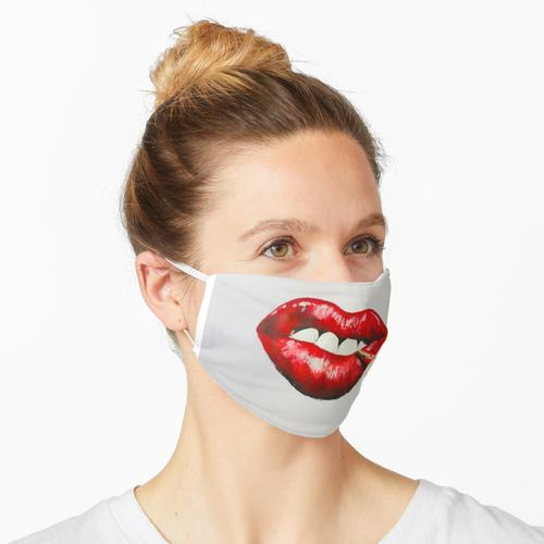 Streichholz Maske