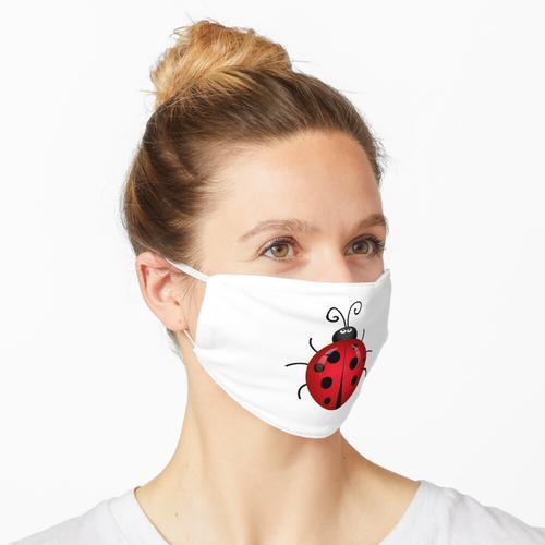 Marienkäfer, Marienkäfer, Marienkäfer, Marienkuh Maske