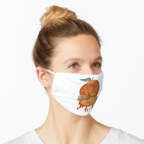 Orangensaft Maske