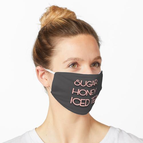 Zuckerhonig Eistee (Word Art) Maske