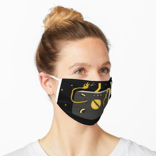 Zitronenkuchen Himmel Maske