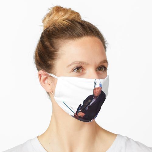 Alufolienhut Maske