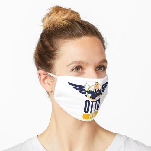 Otto der aufblasbare Pilot Maske
