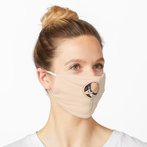 Schau genauer hin Maske