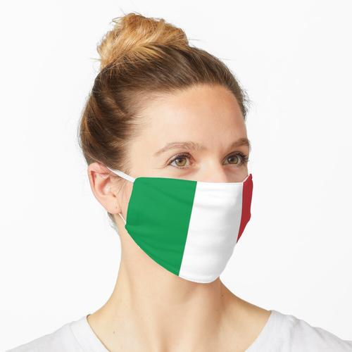 ITALY, ITALIAN, Italian Flag, Flag of Italy, 'Bandiera d'Italia', Pure and simple Maske
