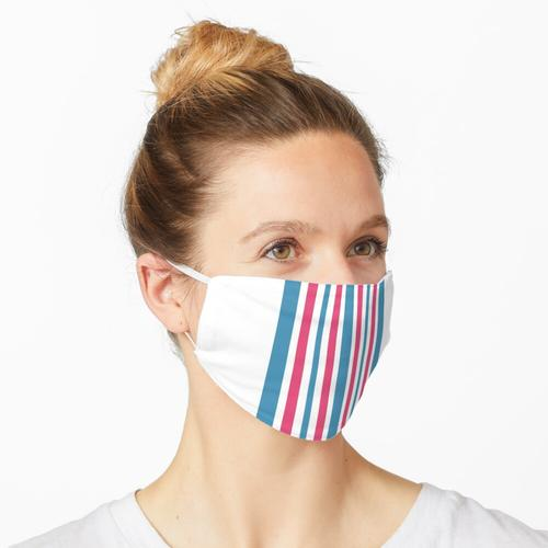 Babydecke Streifen Maske