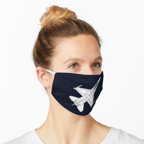 T-Shirt amerikanische Kleidung. Maske