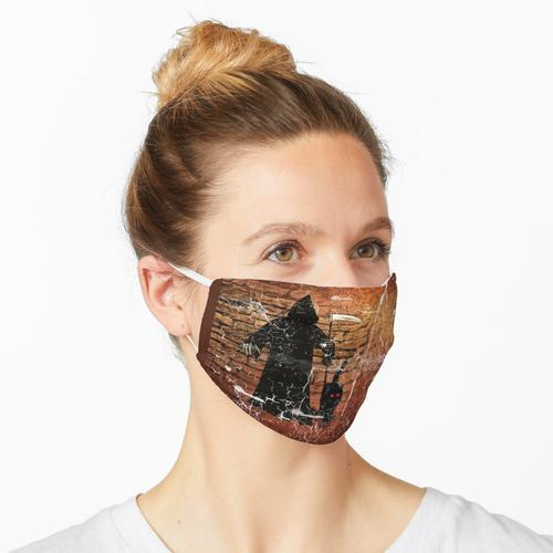 Sensemann und Gefährte Maske
