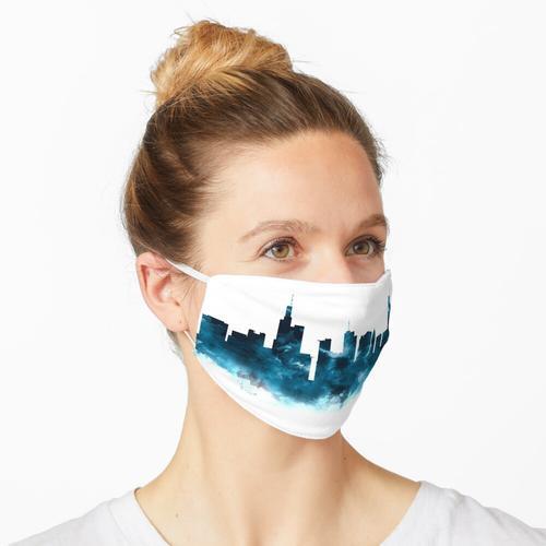 Frankfurter Skyline Maske