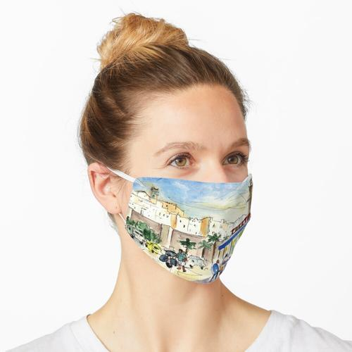 Peniscola Hafen 04 Maske