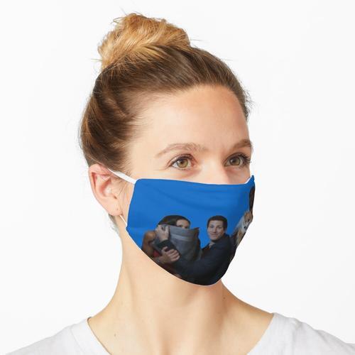 Cheddar und Crew Maske