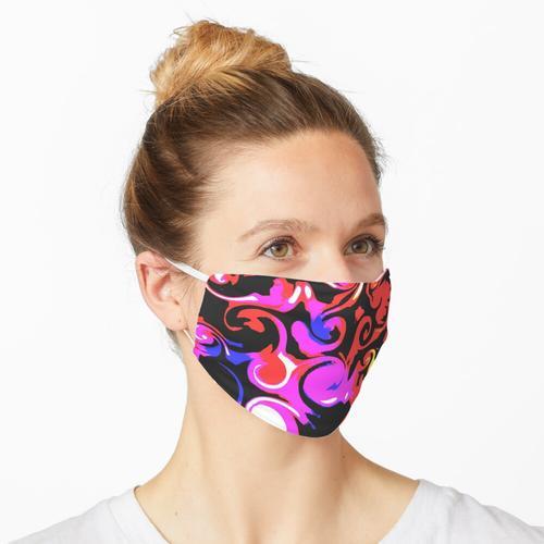 Farbfleck # 7 Maske