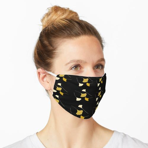 Ginkgoblätter Maske