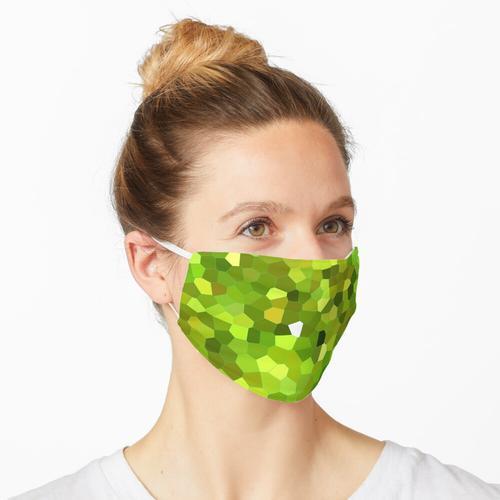 Zitronenkuchen-Mosaik-Muster Maske