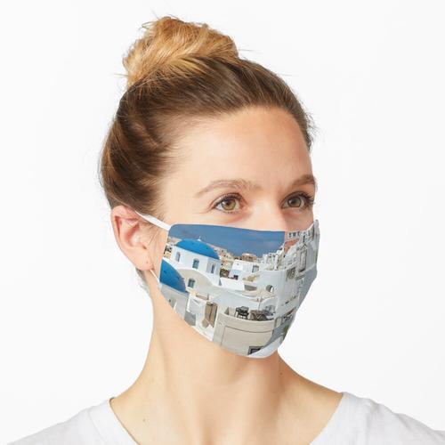 Santorini und Up Maske