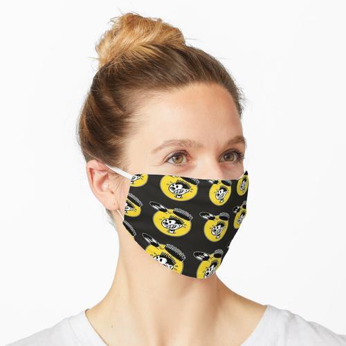 nervöses Rekordhemd Maske