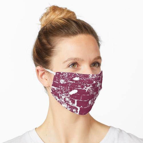 Muster aus Mauersteine Maske