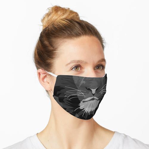 durchscheinender Löwe Maske