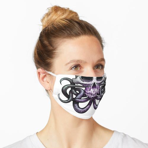 Wurmzungen Maske