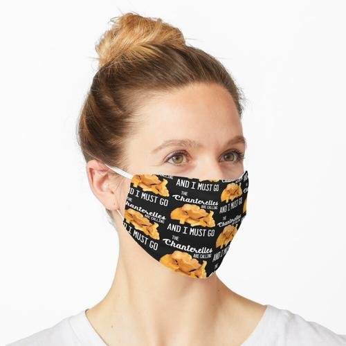 Pfifferlinge Pilze Maske