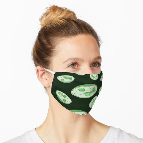 Chloroplasten-Collage Maske