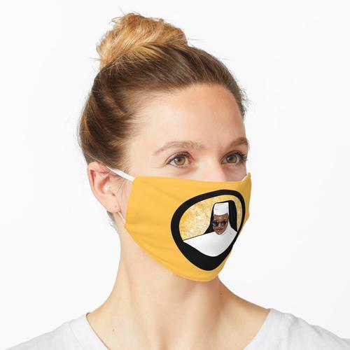 Goldene Schwester Maske