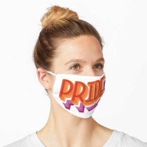 Lesbischer Stolz Maske