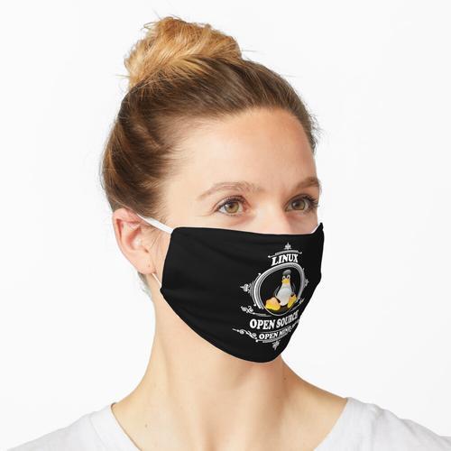 Linux - Open Source - Open Mind Maske