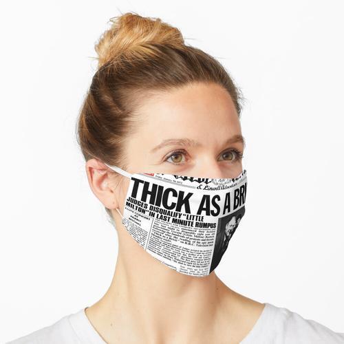 Dick wie ein Ziegelstein (HD) Maske