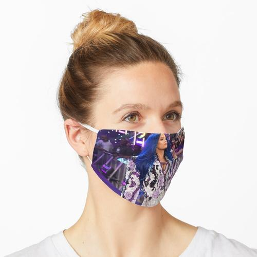 Sasha Banks Lila Jacke Maske