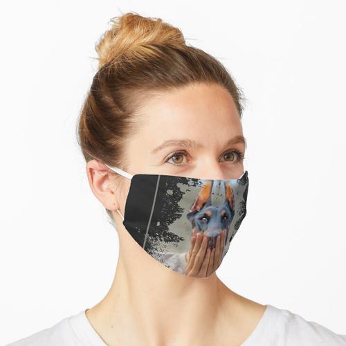 Dobermann Dobermann Maske