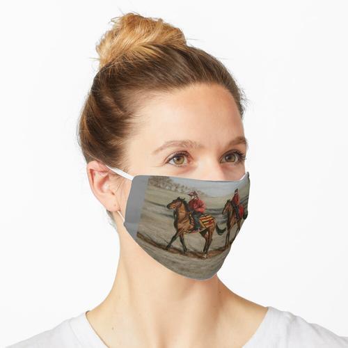 Verspannung Maske
