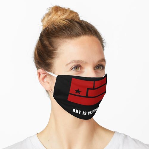 AIR-Art ist Widerstand Maske