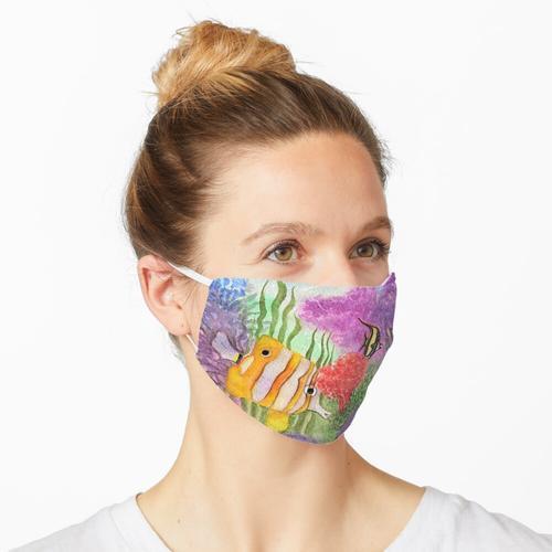 Korallenriff-Aquarium Maske