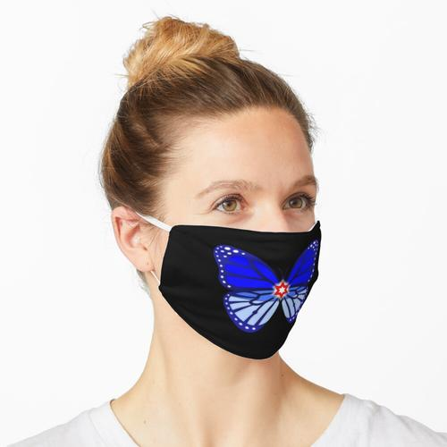 NSP - Spandex Butterfly (ohne Text) Maske
