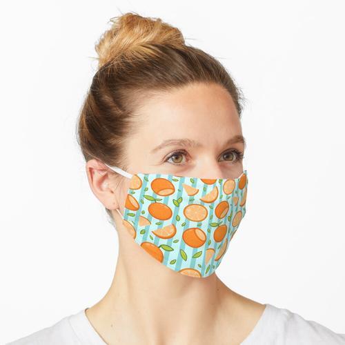 Orange Orangen Maske
