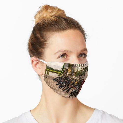 Kalebassenfischen Maske