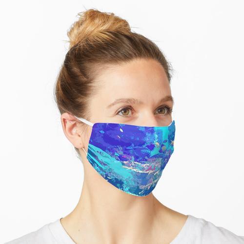 Neon-Aquarium Maske