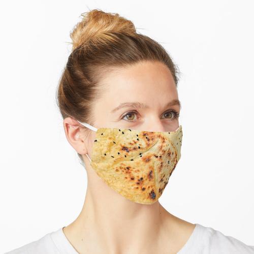 Fladenbrot Maske